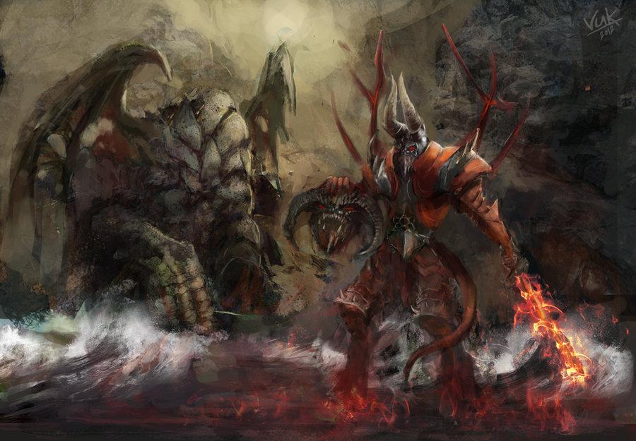 doom kills roshan by chevsy d4m81r9